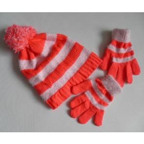 Комплект шапка перчатки