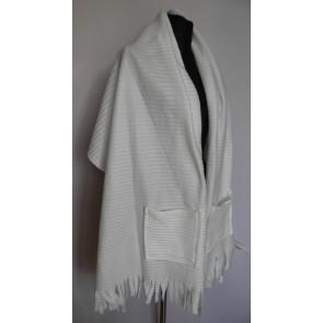 Широкий шарф палантин